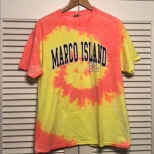 Marco Island Florida Tye Dye T-shirt.